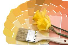 Paint your house spring colors Royalty Free Stock Photo