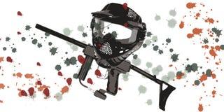 paintball вспомогательного оборудования Стоковая Фотография RF