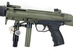 paintball отметки пушки Стоковая Фотография