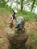 Paintball Photos libres de droits