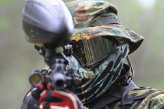 Paintball Stock Photo