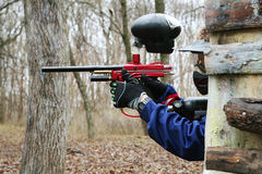 Paintball Royaltyfria Bilder