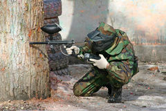 Paintball lizenzfreies stockfoto