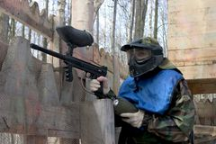 Paintball lizenzfreies stockbild
