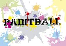 Paintball ilustracji