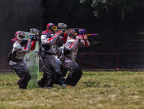 Paintball Arkivbild