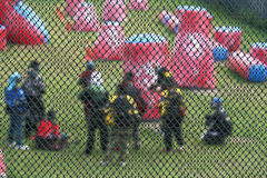 Paintball Fotos de archivo