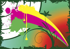 Paintball. Abstract paintball background.Vector illustration Royalty Free Stock Images