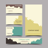 Paintball cards Royalty Free Stock Images