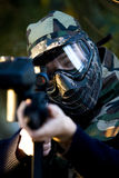 Paintball commando Royalty Free Stock Images
