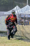 Paintball. Competitor. Royalty Free Stock Image