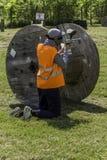 Paintball da ação Imagem de Stock Royalty Free