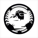 Paintball de Chevron Illustration Libre de Droits