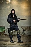 Paintball di divertimento Fotografie Stock