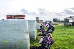 Paintball drużyna Zdjęcia Stock