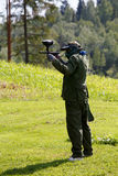 Paintball game Royalty Free Stock Photos