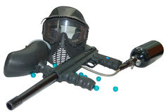 Paintball gear Stock Images