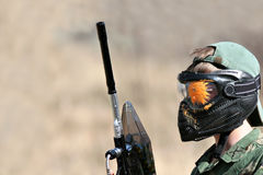 Paintball - gotcha Royalty Free Stock Image