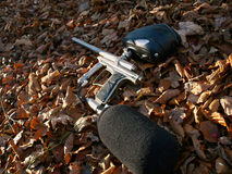 Paintball gun Stock Images