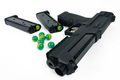 Paintball gun royalty free stock image