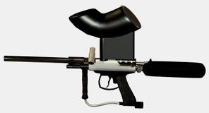 Paintball gun Stock Image