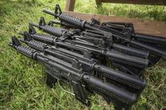 Paintball guns Stock Photos