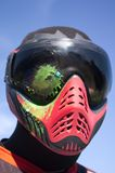 Paintball. Head shot Royalty Free Stock Photography