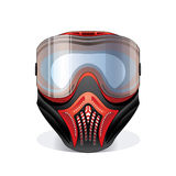 Paintball mask Royalty Free Stock Photo