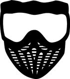 Paintball Mask. Vector sports icon Royalty Free Stock Photo