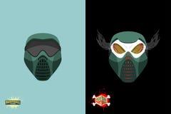 Paintball  Mortal mask. Stock Photography