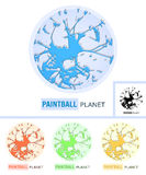 Paintball Planet Royalty Free Stock Photography
