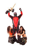 Paintball player Royalty Free Stock Photo