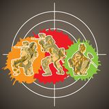 Paintball players Royalty Free Stock Photo