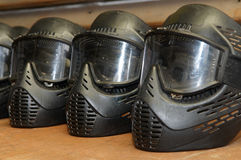 Paintball protective mask Royalty Free Stock Image