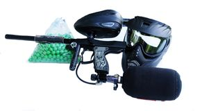 Paintball Rifle Stock Photo