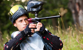 paintball shooter στοκ εικόνες με δικαίωμα ελεύθερης χρήσης