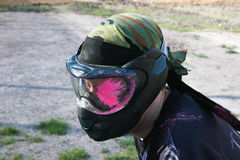 Paintball Shot Royalty Free Stock Images