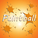 Paintball team Royalty Free Stock Image