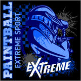 Paintball Team - extreme sport Stock Photography