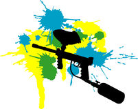 Paintball Royalty Free Stock Image