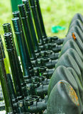 Paintball weapons. To forward to the game Royalty Free Stock Photography