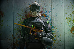 Paintballer Royalty Free Stock Photo