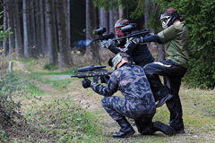 Paintballer Royalty Free Stock Photography