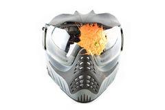 Paintballmaske Lizenzfreies Stockfoto
