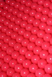 Paintballs. Close up of pink paintballs stock images
