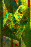 paintballskyddssport Royaltyfri Bild
