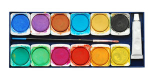 Paintbox Stock Photo