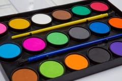 Paintbox Stock Image