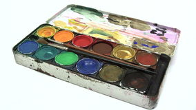 Paintbox Royalty Free Stock Images