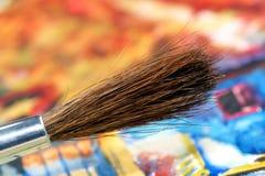 Paintbrush. Stock Photos